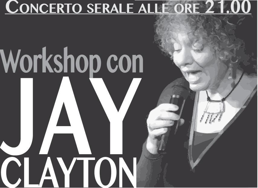 Nimis: workshop con Jay Clayton e concerto serale