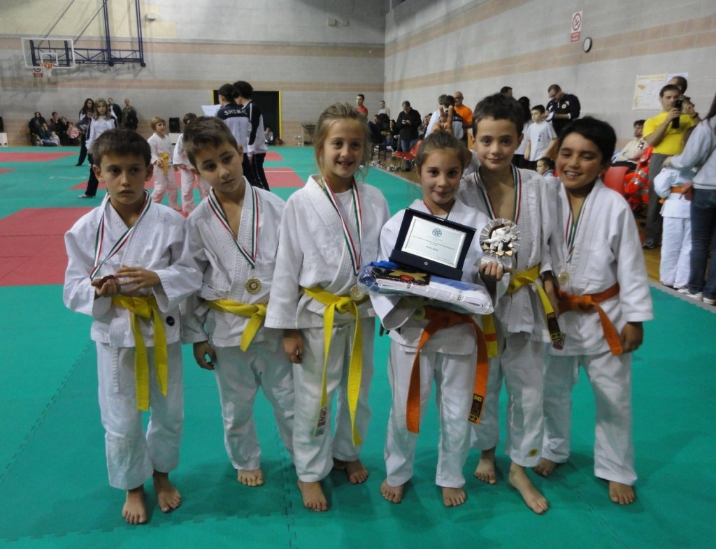 Tolmezzo: grandi risultati del Judo club alla 5^ e ultima prova del Criterium Giovanissimi