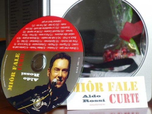 """Aldo Rossi: curtes, all'Angolo della Musica di Udine si presenta il nuovo CD """"Miôr fale curte"""""""