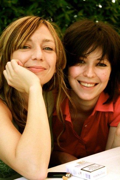 Le figlie Daria e Silvia