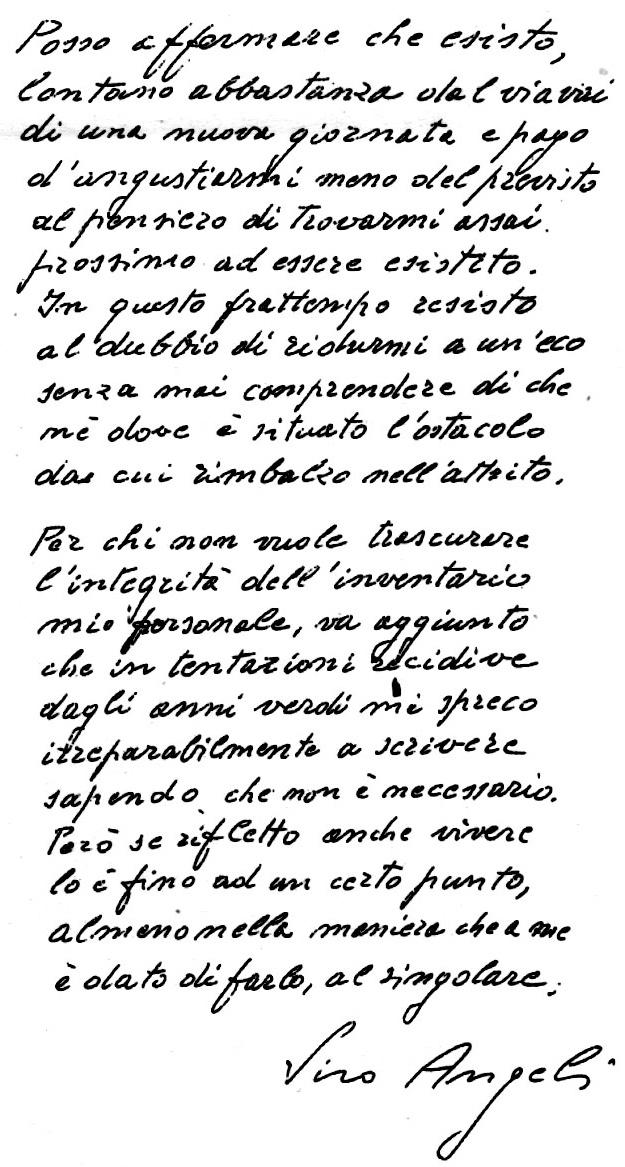 """Carnia: """"L'incunabolo autografo della  poesia di Siro Angeli"""", omaggio di Ermes Dorigo"""