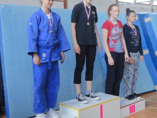 Tolmezzo: Judo club, Betty Vuk sul podio