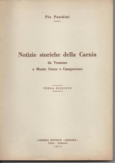 """Tolmezzo: Pio Paschini """"Avvocato di Galileo"""""""
