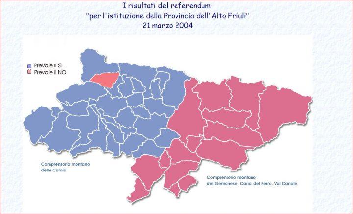 Carnia: il sogno infranto della quinta Provincia, aree marginali schiacciate, la montagna è quella che rischia