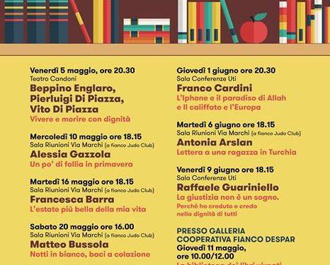 """Tolmezzo: """"Maggio letterario"""", terza edizione della rassegna letteraria d'incontri con l'autore"""