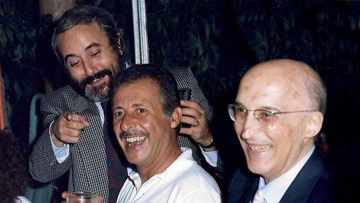 Carnia: Caponnetto all'Auditorium di Tolmezzo il 17/05/1995 a ricordare Falcone e Borsellino