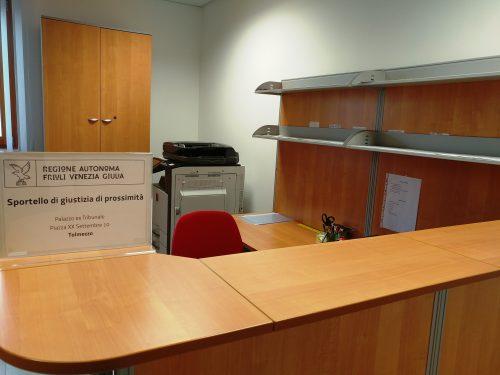 Tolmezzo: Sportello di giustizia di prossimità, tutti i servizi disponibili per i cittadini