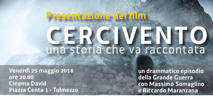 Tolmezzo: Presentazione del film 'Cercivento. Una storia che va raccontata'
