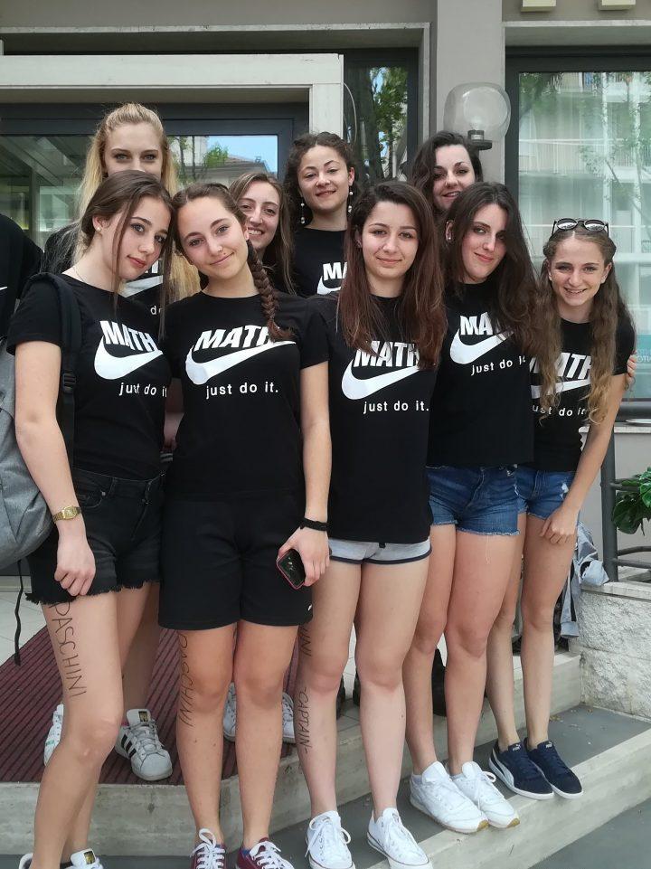 Cesenatico: le ragazze del Liceo Scientifico di Tolmezzo quarte alle Olimpiadi della Matematica
