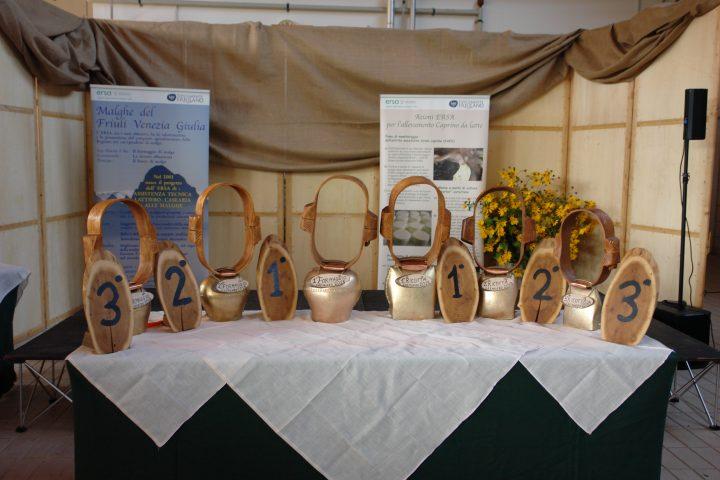 Enemonzo: l'attività di ERSA alla 44^ mostra mercato del formaggio e della ricotta di malga